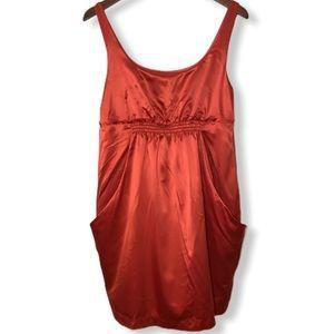 BCBGeneration Silky Sexy Red Dress